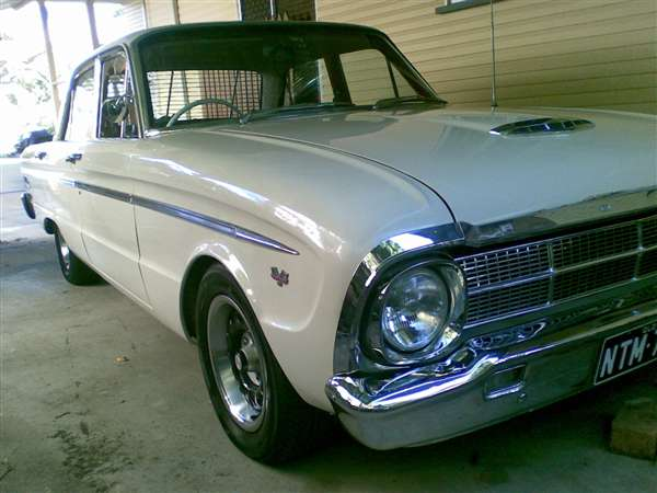 Detail on 1964 ford falcon